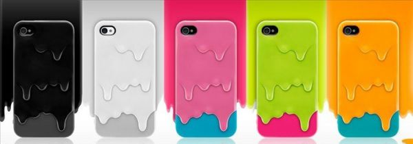 Ice cream para Iphone 4, 4S e 4G - 5 cores
